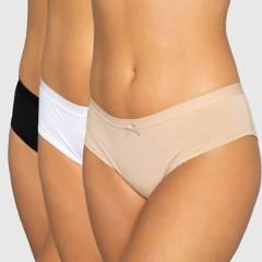 PALMERS - Pack 3 Pantaletas algodón