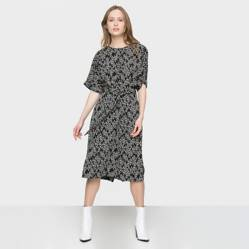Warehouse - Vestido Midi Mujer