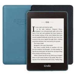 Amazon - Kindle Paperwhite Waterproof Azul  Funda Negro