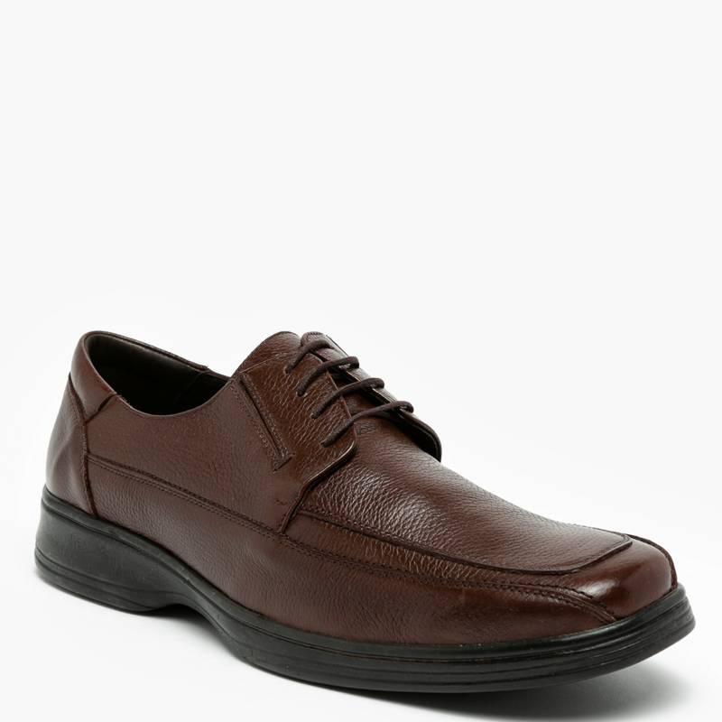 GUANTE - Zapato Formal Hombre Cuero Negro