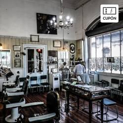 BARBERÍA PELUQUERÍA FRANCESA - Corte de pelo padre e hijo + 2 helados en Barbería Los Domínicos