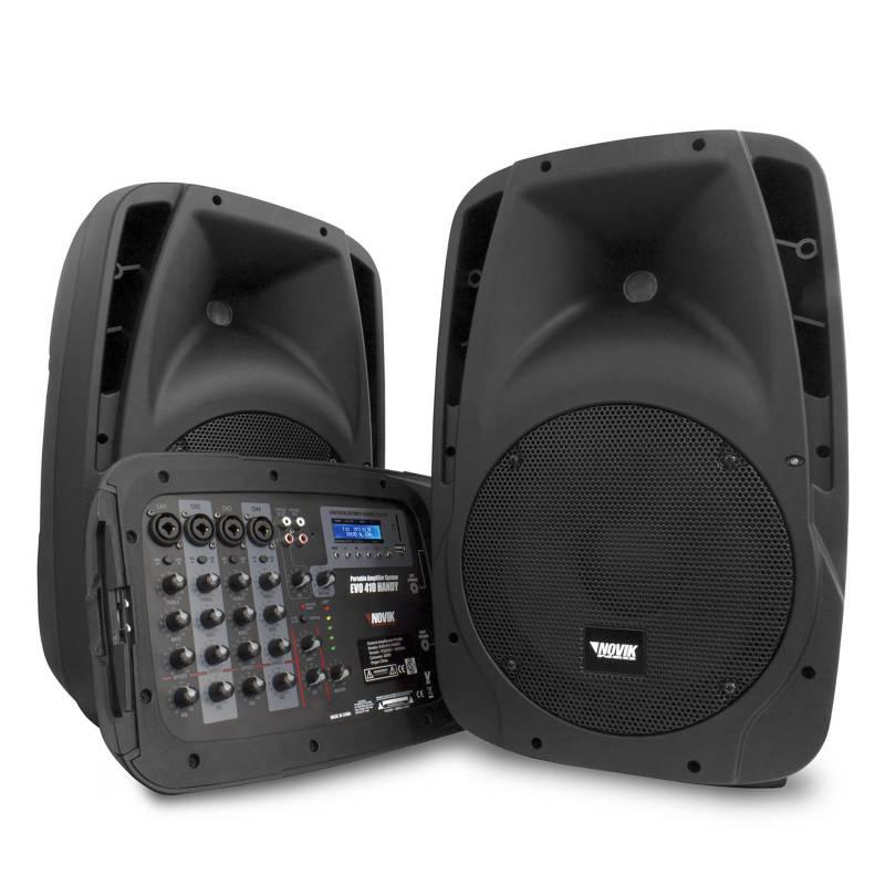 Novik - Sistema de Sonido Todo en Uno Novik Evo Handy 410