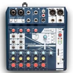 Soundcraft - Consola Soundcraft Notepad 8Fx
