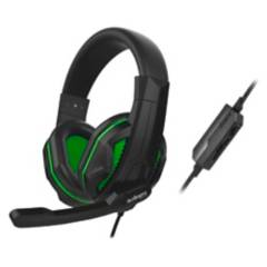 Audiopro - Audifonos Gamer Ps4 Con Microfono Green / K
