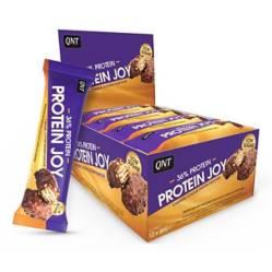 Caja De 12 Barras De Proteina Joybar Caramelo