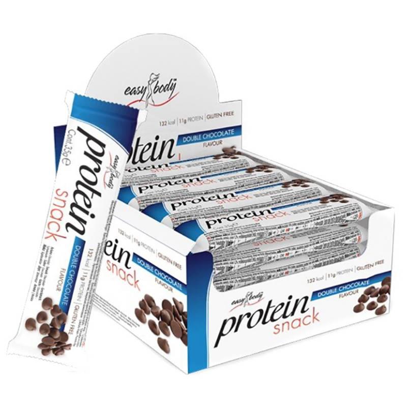 QNT - Caja De 24 Barras De Proteína Easy Body Chocolate