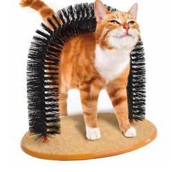 Rascador Y Masajeador Para Gatitos