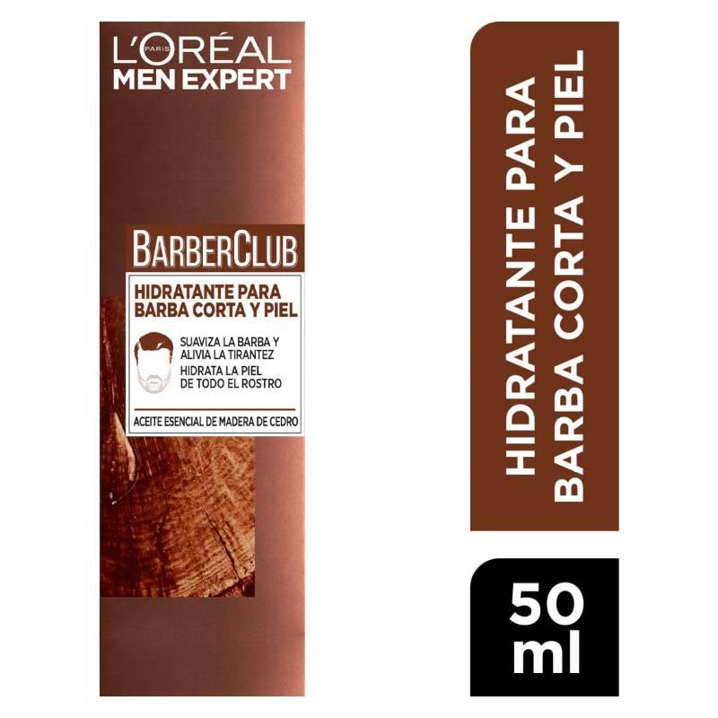 MEN EXPERT - Crema Hidratante para Barba Corta y Piel Barber Club 50 ml