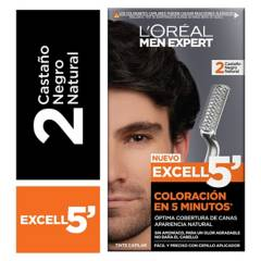 MEN EXPERT - Excell 5 Tono 1 Negro Natural