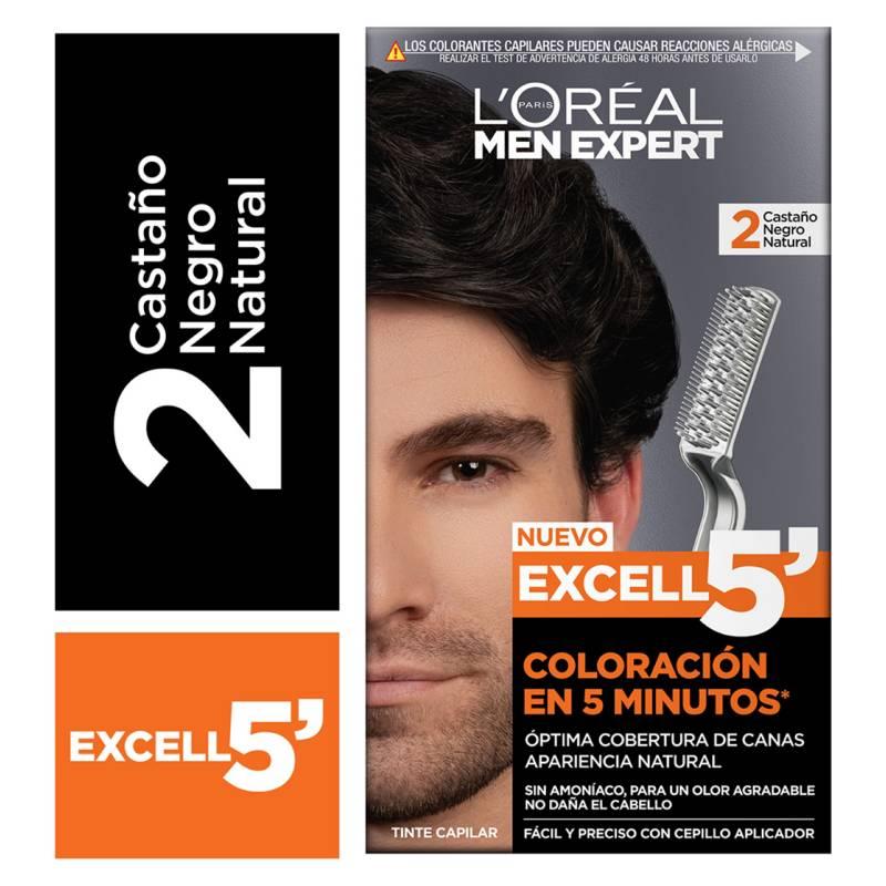 MEN EXPERT - Excell 5 Tono 1 Negro Natural