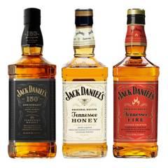 JACK DANIELS - Mix Jack Daniels Tradition: N7 Honey Fire
