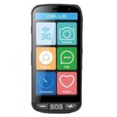 Dblue - Telefono Celular Senior Android 5.1  Chip Entel