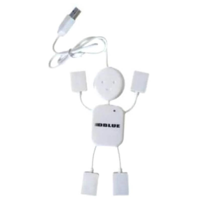 Hub Usb Figura Humana 4 Puertos / K