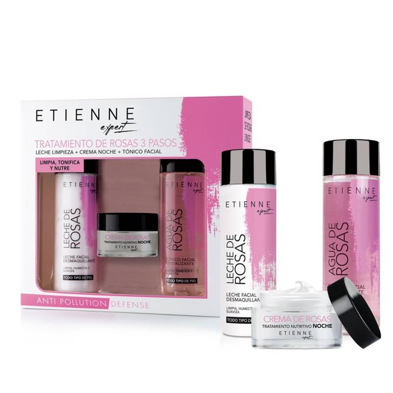 Etienne - Cosmetiquero Triple Rosas Limpieza
