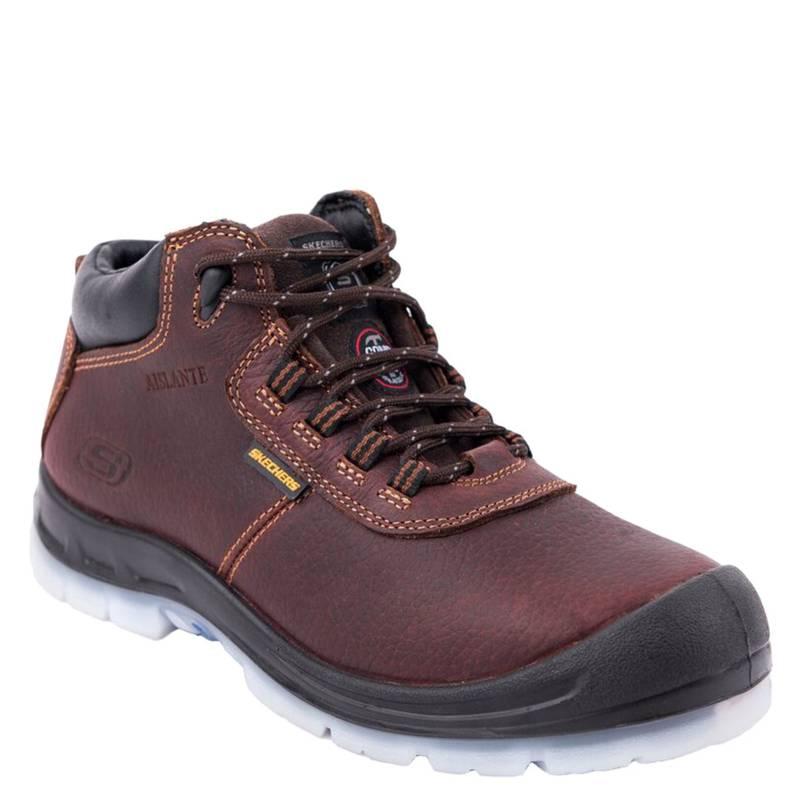 caminar grado Fuerza  SKECHERS WORK Zapato de Seguridad Hombre Hammer Mid - Falabella.com