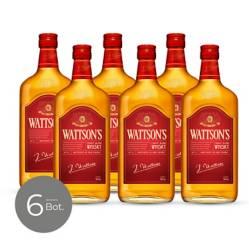 WATTSONS - Whisky Original 40 Gr 700 cc x 6 Unidades