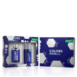 Benetton - Colors Man Blue EDT 100 ml + Desodorante 150 ml