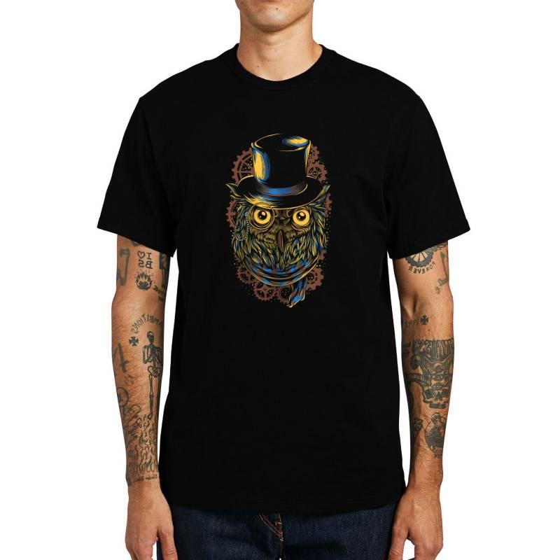 GET OUT - Polera Steampunk Owl