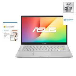 Asus - Notebook VivoBook S433  Intel Core i7-10510U 8GB RAM+ 32GB Intel Optane 512GB SSD 14""