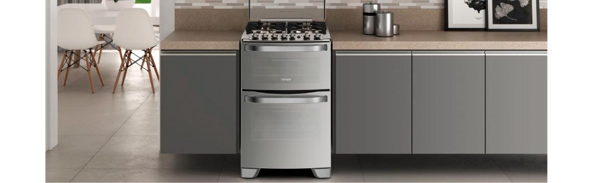 Elegancia y robustez con la cocina 56 DXQ de Fensa