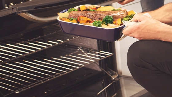 Parrillas autodeslizables con la cocina 56 DXQ de Fensa