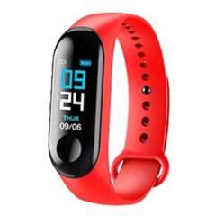 Dblue - Smartband Fitness Cardio Bluetooth M4 Red / K