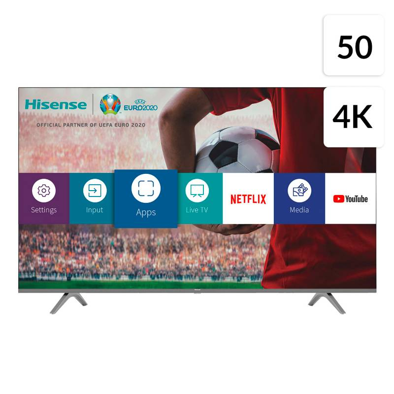 "Hisense - LED 50"" 50H6GCL 4K HDR Smart TV"