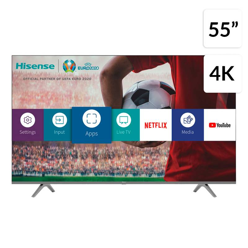 "Hisense - LED 55"" 55H6GCL 4K HDR Smart TV"