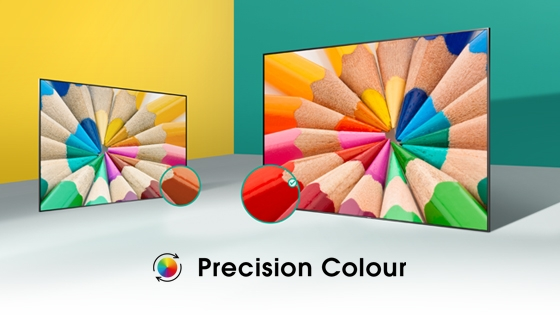 Hisense TV  h6 UHD Precission Colour
