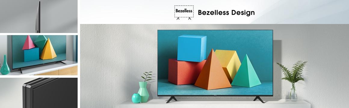 HISENSE TV H6 UHD Diseño UNICO