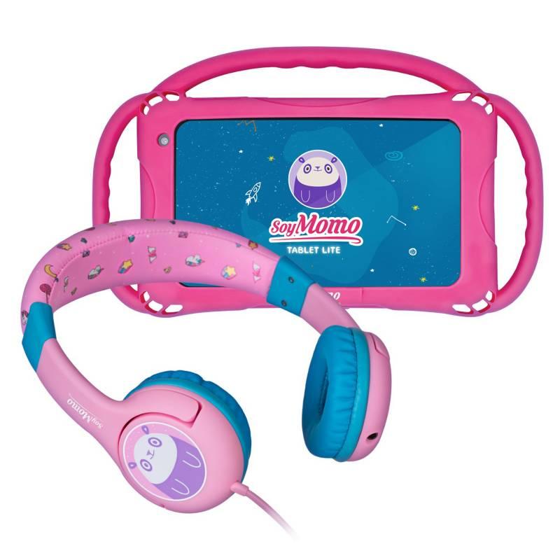 Momo - Soymomo Tablet Lite 7 16Gb  Audífonos Rosados