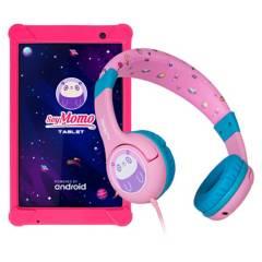 MOMO - SoyMomo Tablet PRO 8  Audifonos Rosados