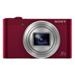 Sony - Cámara Compacta Dsc-Wx500 Rojo
