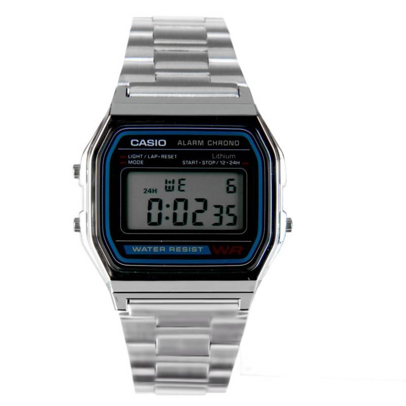 Casio - Reloj Digital Unisex A158WA-1DF