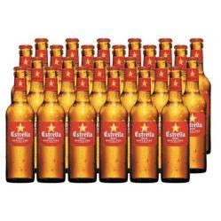 ESTRELLA - Cerveza Estrella Damm Barcelona Bot. 24 X 330Ml 6