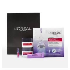 DERMO EXPERTISE - Pack Anti-Arrugas Rutina Completa Acido Hialurónico + Ampollas De L'Oréal Paris