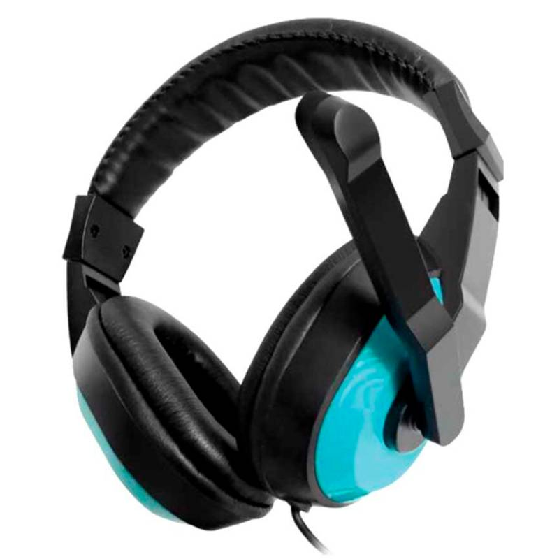 Dblue - Audifonos Gamer Ps4 con Microfono 3.5Mm Azul