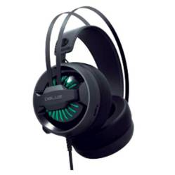 Dblue - Audifonos Gamer Luz Led Microfono Usb