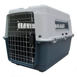 NINGBO - Jaula de Transporte L70 para Perros y Gatos