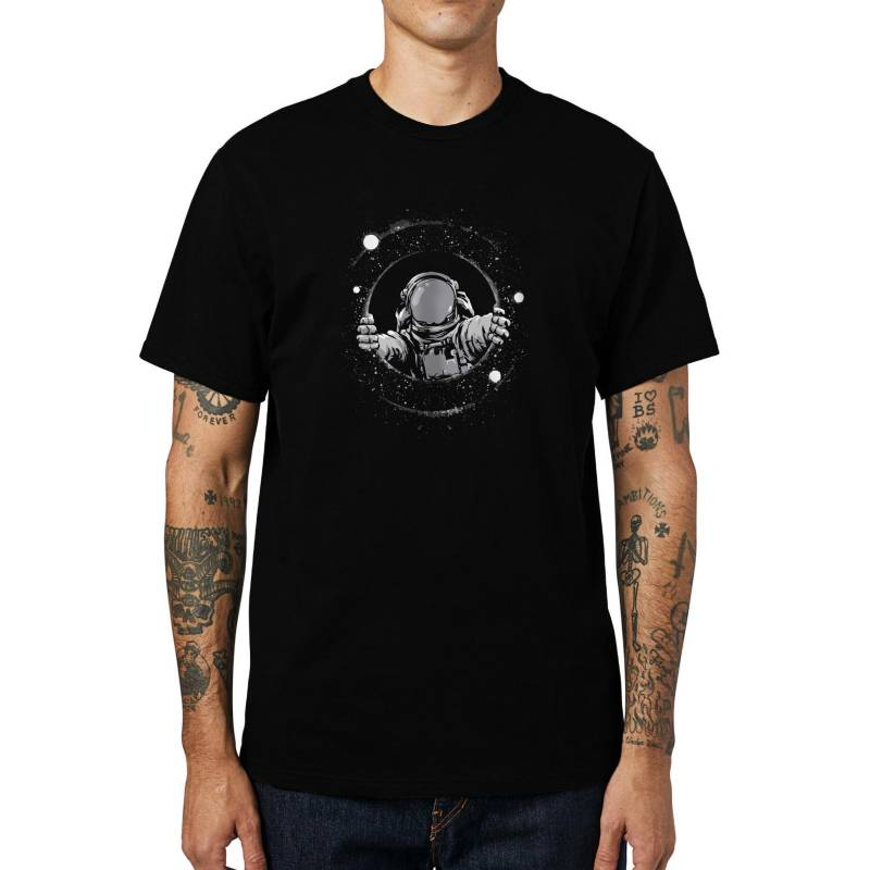 GET OUT - Polera Astronaut Tunnel
