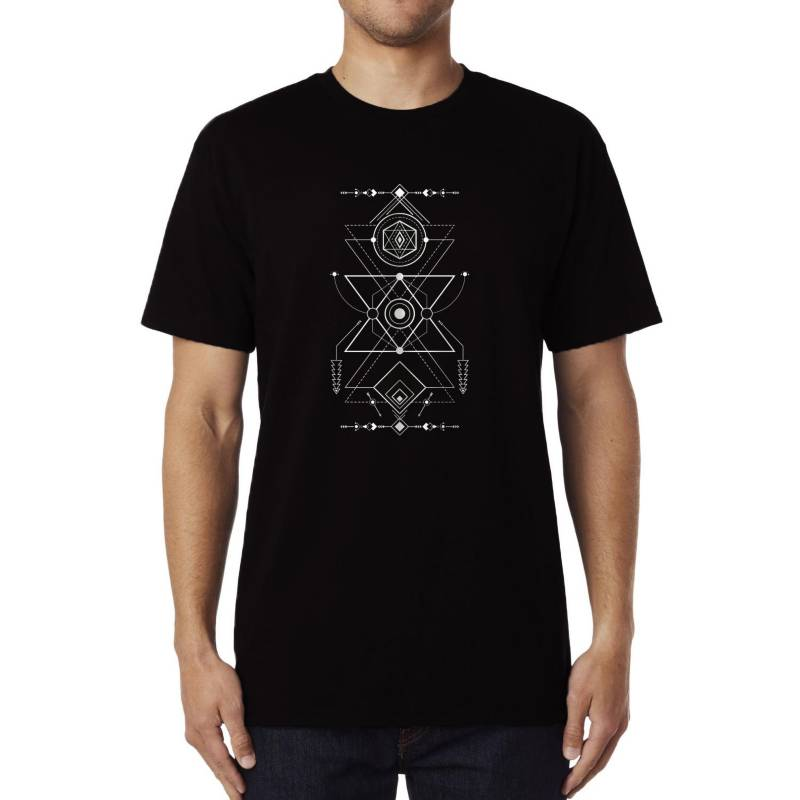GET OUT - Polera Navajo Geometry