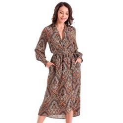 NICOPOLY - Vestido Estampado Paisley