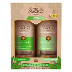 TIO NACHO - Pack Aloe Vera Shampoo + Acondicionador