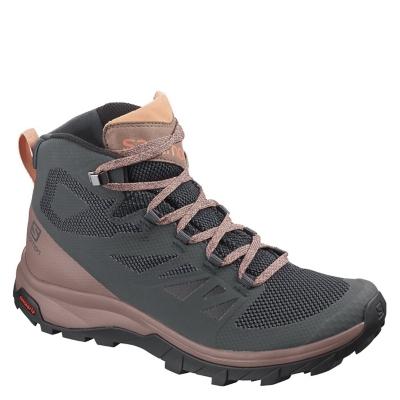 salomon outline mid gore-tex women's walking boots hombre