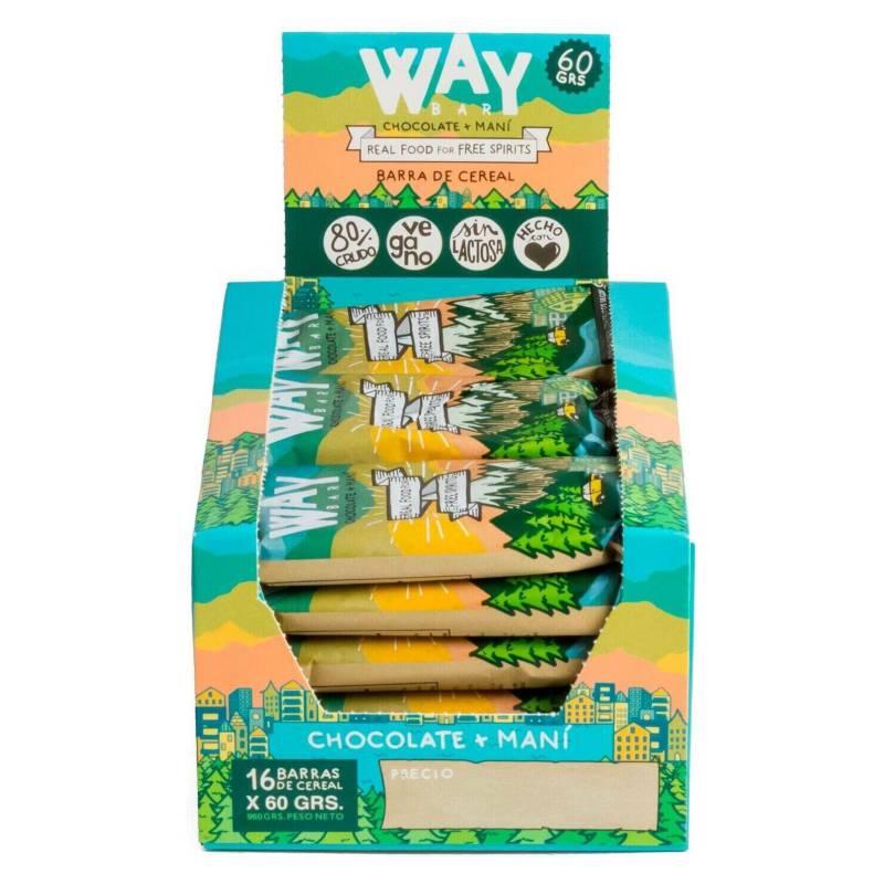 WILD FOODS - Way Bar 16 Unidades 60 Gr.