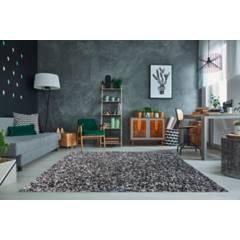 IDETEX - Alfombra Shaggy Bico 150 X 200 Black