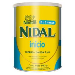 NAN - Leche Nidal 1 Inicio 800G Fórmula Infantil