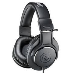 AUDIOTECHNICA - Audífonos Ath-M20X Color Negro