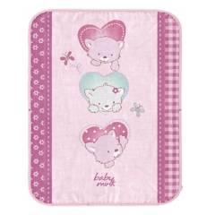 Baby Mink - Frazada Baby Bag Corazones