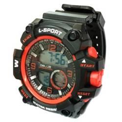 Dblue - Reloj Digital Deportivo Red